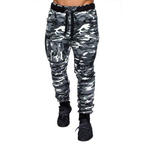 Camouflage Jogging Pants Men/'s Sport Leggings Fitness Running Long Trousers 3XL