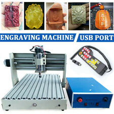 New Listingusb 3axis Cnc 3040 Router Engraver 400w 3d Wood Engraving Drill Milling Machine