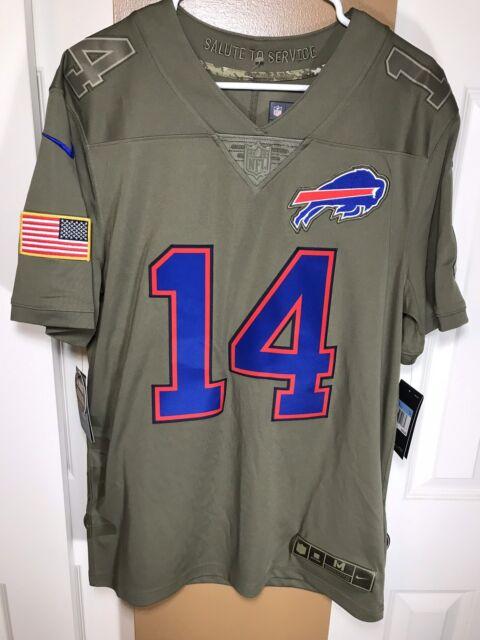 Nike Sammy Watkins Buffalo Bills Salute to Service Jersey 882859 244 Size  Medium ebf363784