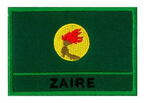 Ecusson patche drapeau patch insigne Guinée Equatoriale 70 x 45 mm brodé