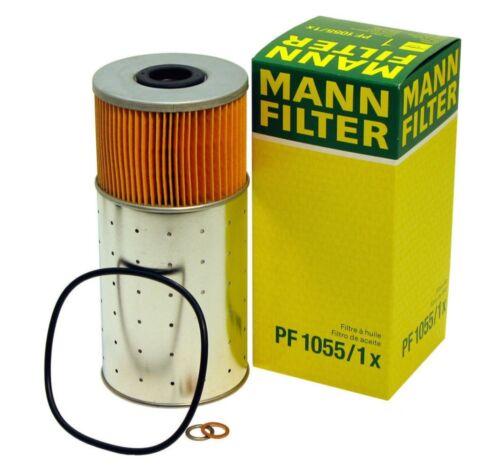 For Mercedes W123 W116 240D 300CD 300D 300SD Engine Oil Filter Kit PF10551X Mann