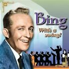 Bing Crosby With a Swing Audio Music CD Pop Vocal