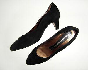 Damen-Schuhe-Pumps-Peter-Kaiser-Gr-38-5-UK-5-5-Weite-F-schwarz-Leder