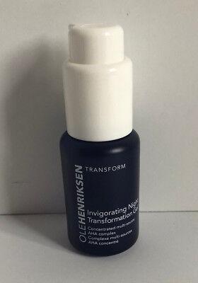 New❤ole Henriksen❤invigorating Night Transformation Gel❤30ml/1oz.❤medium Size Night Treatments Skin Care