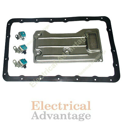 Solenoid Service Kit A340 AW4 Transmission 1987-2001 2WD /& 4WD For Jeep Cherokee