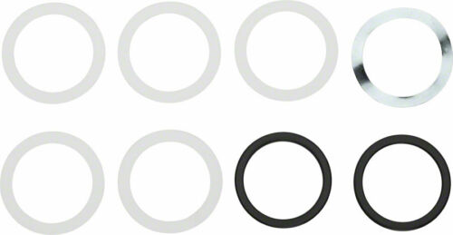SRAM Spindle Spacer Kit for BB30 Cranks with BB386 Frames BB30 Spindle Spacer