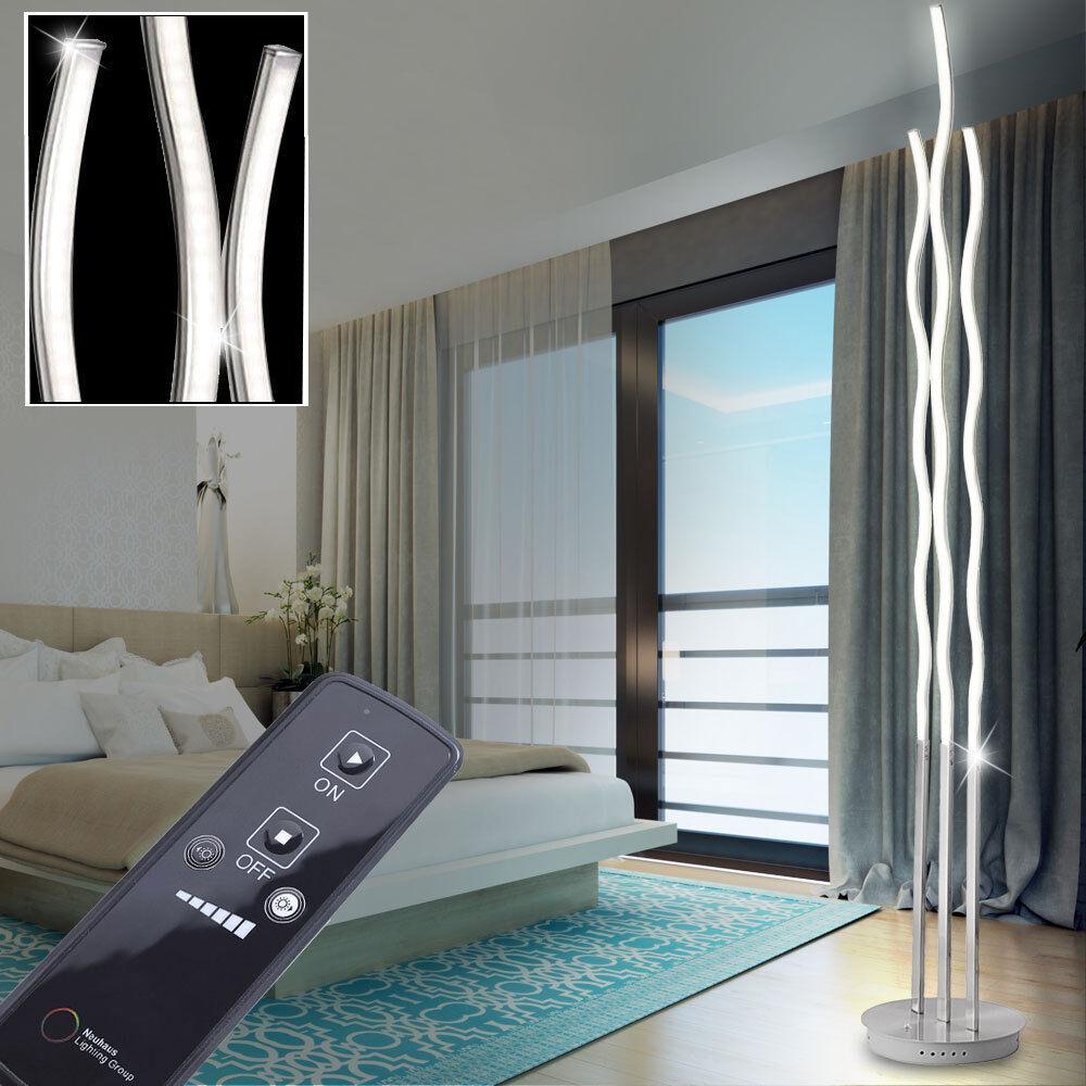 Design design LED Piantana Luci design Design d'onda stanza Salotto Illuminazione Living-XXL 701bc1