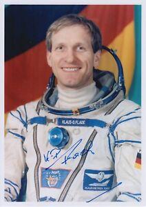 Original signiertes Foto DLR-Raumfahrer Klaus-Dietrich Flade Sojus TM-14/13