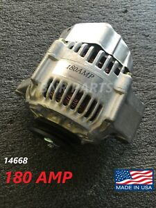 Details about 180 AMP 14668 Alternator Toyota Pickup 4Runner 22R 2 4L High  Output LARGE BODY