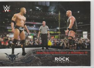2016-Topps-Heritage-WWE-The-Rock-Tribute-Card-25-Defeats-Stone-Cold