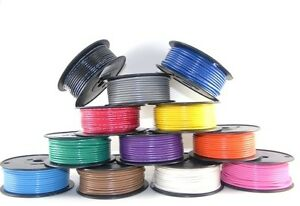 12 AWG Gauge Primary Wire Car / Boat Marine Grade Tinned Copper Made in the USA