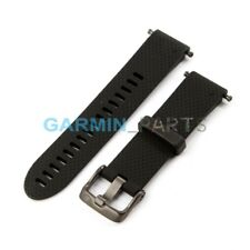 Garmin 010-12491-12 Fenix 5s Quick Fit 20 Watch Band - Black Silicone