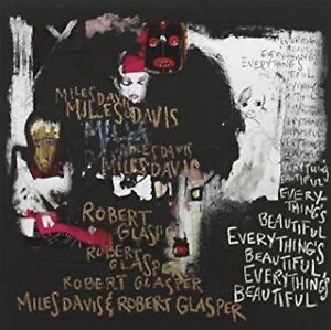 NEW RARE Miles Davis & Robert Glasper Everythings Beautiful LP Record RED VINYL