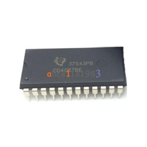 2PCS CD4067BE DIP-24 CD4067 Multiplexers//Demultiplexer