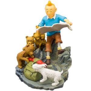 Figurine-de-collection-Tintin-et-Milou-OBJECTIF-LUNE-HERGE