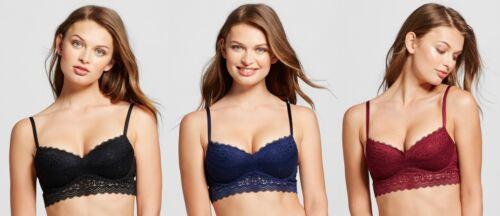 Women/'s Long Line Lace Push-Up Bra Womens Bras Xhilaration