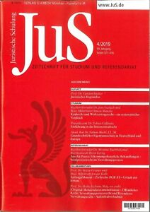 JuS-Juristische-Schulung-4-2019-Zeitschrift-fuer-Studium-und-Referendariat