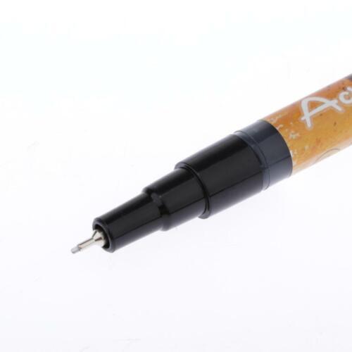 Schwarze Acrylstifte Marker Stifte Filzstift Folienstift Permanent Fine Marker