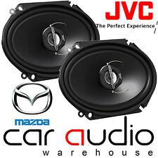 """MAZDA 323 3,4 & 5 Door 5x7"""" 6x8"""" 500W 2-Way JVC Front or Rear Car Door Speakers"""