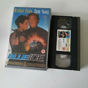 Blue-Ice-BIG-BOX-EX-RENTAL-VHS-Michael-Caine
