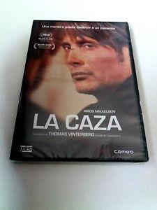 DVD-034-LA-CAZA-034-PRECINTADO-SEALED-THOMAS-VINTERBERG-MADS-MIKKELSEN