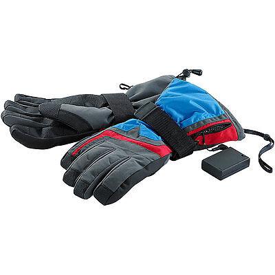 Akku Handschuhe: Beheizbare Ski- und Snowboardhandschuhe Gr. L/XL