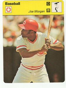 1977-1979-SPORTSCASTER-CARD-JOE-MORGAN-CINCINNATI-REDS