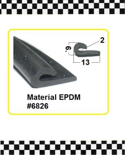 4m Unterlegprofil 2mm Kantenschutz Gummidichtung 6826 aus BERLIN € 6,75//m f