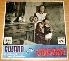 fotobusta originale GUERRA ALLA GUERRA Romolo Marcellini 1948 #4