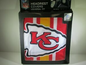 Kansas-City-Chiefs-2-Pack-Color-Print-Auto-Car-Truck-Headrest-Covers