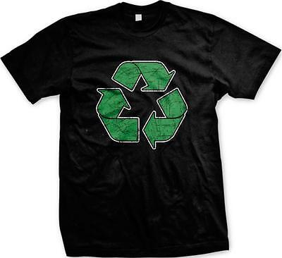 Recycle Sign Symbol Go Green Environmentalist Conservation Mens T-shirt