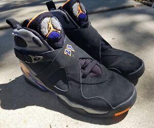 ce2094af76e6 Nike Air Jordan Retro 8 VIII Phoenix Suns GS Size 6Y 2013 305368 ...