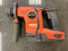 Hilti Te 6 A22 Combination Rotary Hammer Drill 2020 Model 30ah Battery