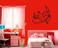 Wall Sticker Vinyl Decal Nursery Baby for Kids Child Angel Cloud ig1225