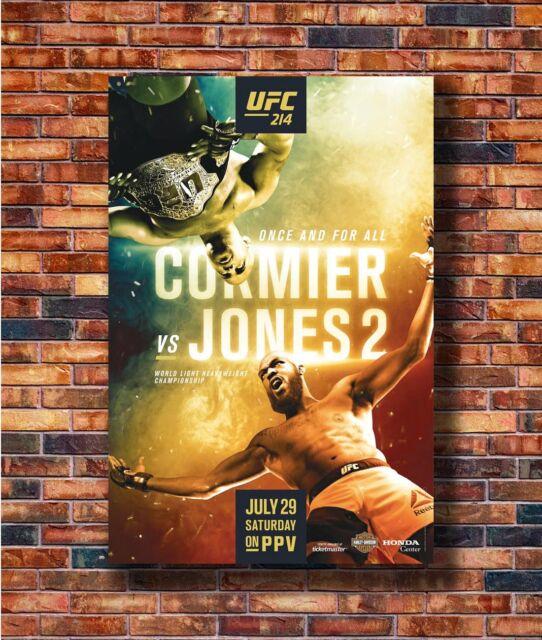 Aldo 2 Fighting Card MMA 14x21 24x36 Hot Y2669 Art Poster UFC 218 Holloway vs