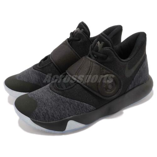 Nike Black Grey Ep Kevin Trey Durant Basketball Shoes Men Kd 010 Vi 6 5 Aa7070 pwpaArFq