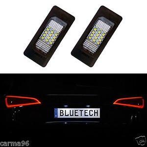 2x-LED-iluminacion-de-la-matricula-skoda-yeti-5l-Fabia-5j-superb-combi-3t-VW-Passat