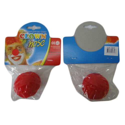 Red Nose Day Soft Sponge Comic Relief Circus Clown Fancy Dress Party Accessories