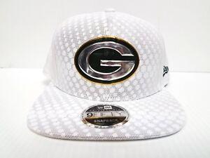 4678b06a5 Green Bay Packers New Era 9Fifty Cap Snapback On Field Rush Sideline ...