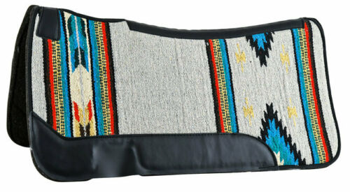 "Weaver Contoured Single Weave Felt Saddle Pad 31/"" x 32/"" 8 Colors Available NEW"