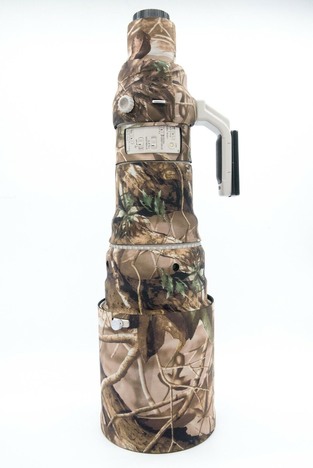 LensCamo Neoprene Camouflage Cover for Canon 600 mm f/4L IS USM - mark i