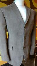 "Mens Marks & Spencer Needlecord Jacket Dark Camel Tan Blazer Summer Size 42S"""