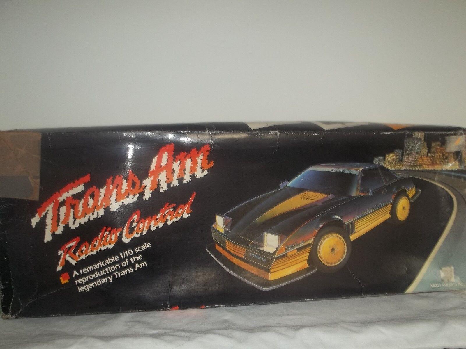 presentando tutte le ultime tendenze della moda Vintage Rare Nikko R C Pontiac Trans Am 1 1 1 10 nuovo  marchi di stilisti economici