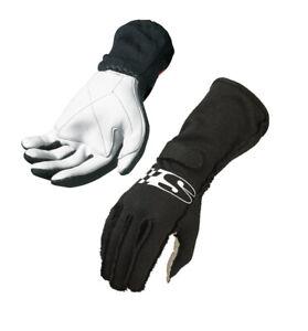 Simpson Super Sport Handschuhe Schwarz Sfi 3.3/1 - GRÖSSE XS