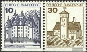 BRD-BR-Deutschland-W64II-Letterset-postfrisch-1990-Burgen-und-Schloesser