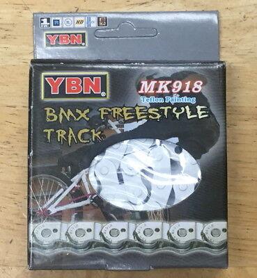 "GREEN 116 Link YABAN MK918 FIXI BMX Half-Link Chain Single Speed 1//2/""x1//8/"" 116L"