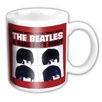 The Beatles Mug. A Hard Days Night Cup - Coffee Tea Kitchen - Lennon Mcartney