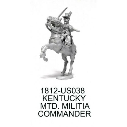 Commander Johnson Knuckleduster 1812-US038 War of 1812 US Kentucky Mounted Vol