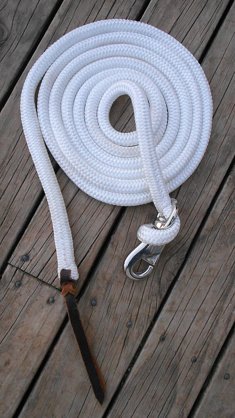 22 FT TRAINING ROPE  -PROFESSIONALLY MADE- 17 colours available  quick answers