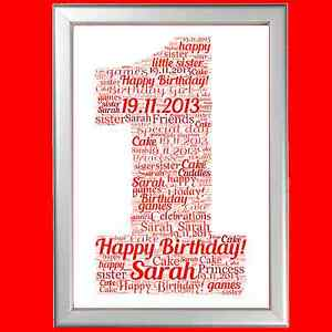 Image Is Loading PERSONALISED FIRST 1ST BIRTHDAY GIFT FOR HIM OR